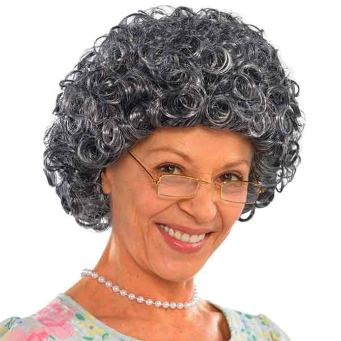Granny Curly Wig