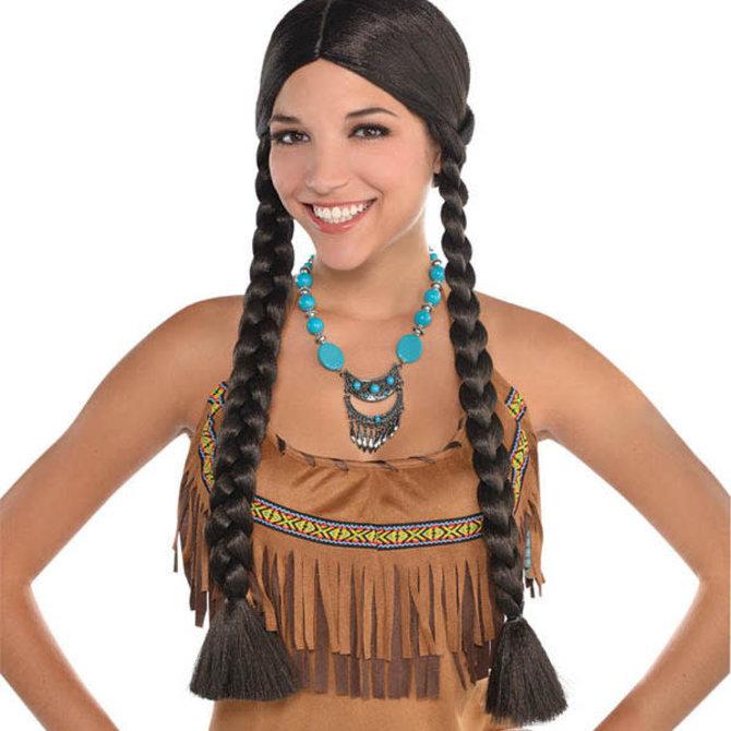 Western Braided Wig