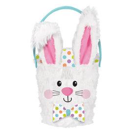 Plush Bunny Easter Basket