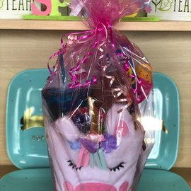 Filled Unicorn Easter Basket- Great For Ages 10 & Under
