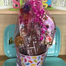 Filled Metal Easter Basket For Girls- Great For Ages 13 & Under
