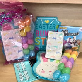 Quarantined Easter Party Kit- Bunny Shaped Plate