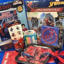 Spiderman Quarantined Party Kit
