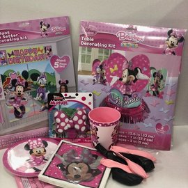 Minnie Mouse Quarantined Party Kit