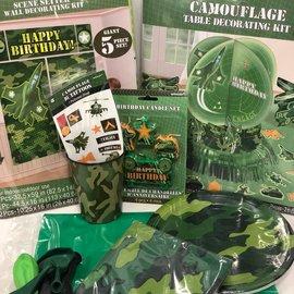 Camo Quarantined Party Kit