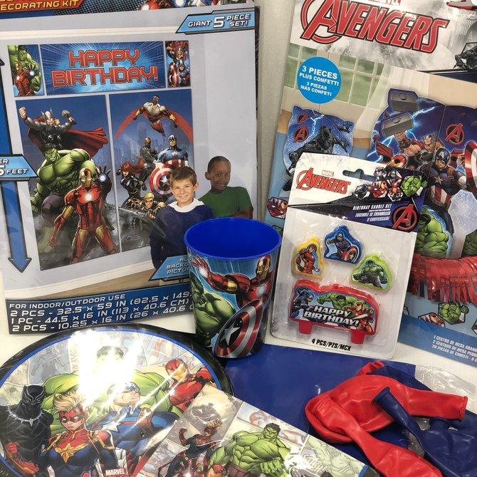Avengers Quarantined Party Kit