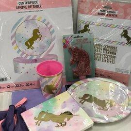 Unicorn Sparkle Family Party Kit