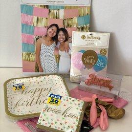 Pastel Confetti Fun Family Party Kit