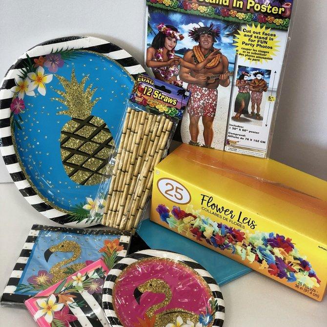 Luau Quarantined Party Kit