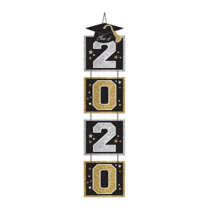 2020 Grad Vertical Door Decoration