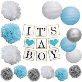 It's A Boy Garland Kit