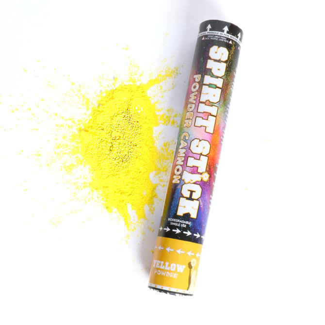 "12"" Powder Spirit Stick- Yellow"