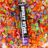 "12"" Spirit Confetti Cannon- Purple"