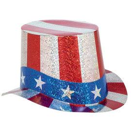 Patriotic Prismatic Paper Top Hat