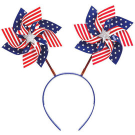 Patriotic Pinwheel Headbopper