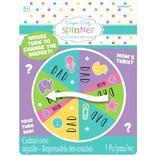 Baby Shower Diaper Duty Spinner
