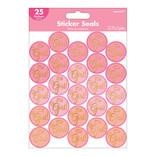 Baby Shower Sticker Seals - Girl -25ct