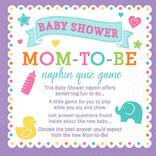 Baby Shower Trivia Napkins- 40ct