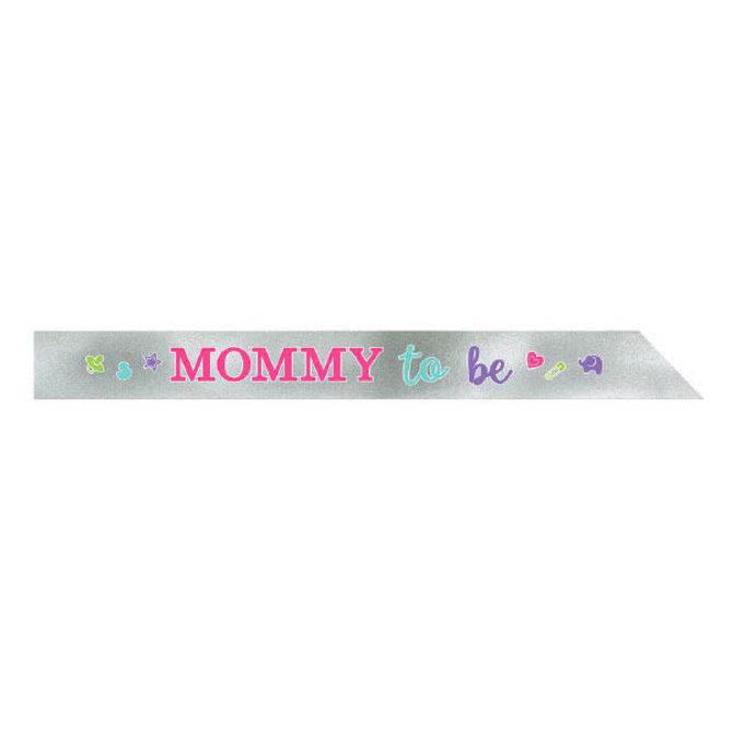 Mom-to-Be Foil Sash