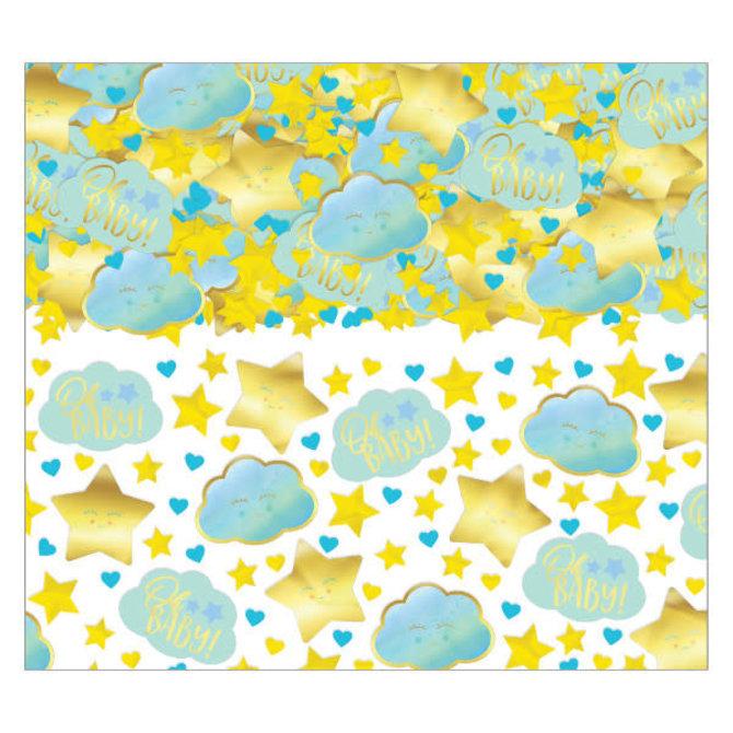 Oh Baby Boy Confetti -2.5oz