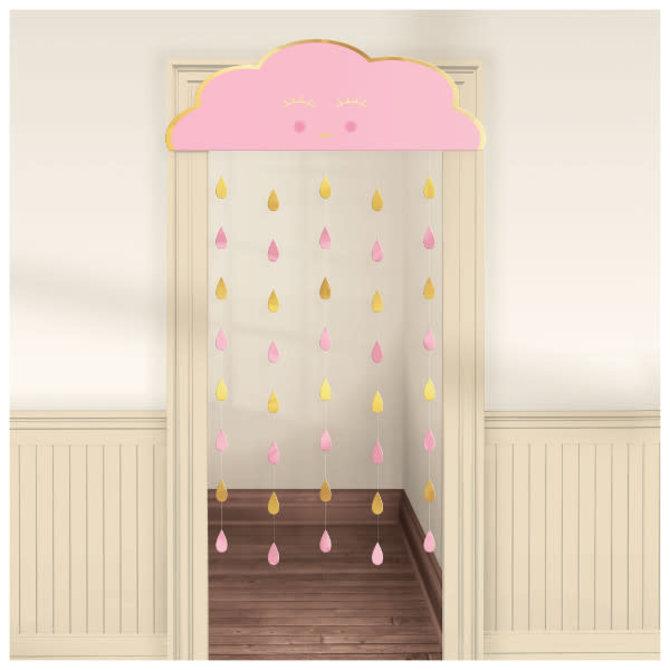 Oh Baby Girl Door Curtain