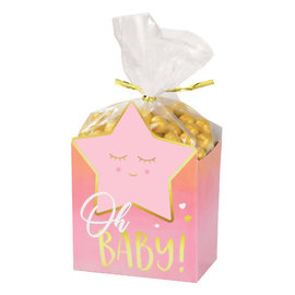 Oh Baby Girl Favor Box Kit -8ct
