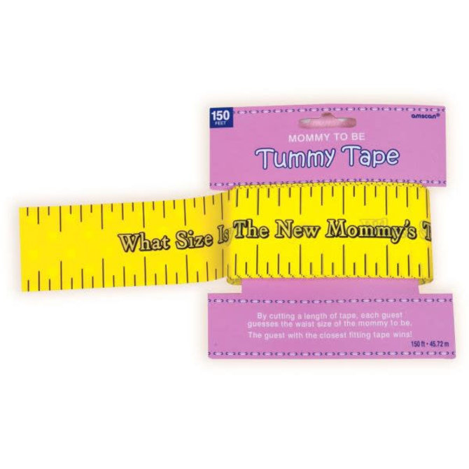 Tummy Measure Baby Shower Game