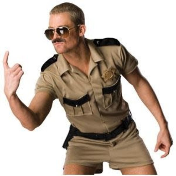 Adult Lt Dangle Costume- Reno 911 (#351)