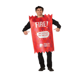 Taco Bell Sauce Packet Red Fire (#364)