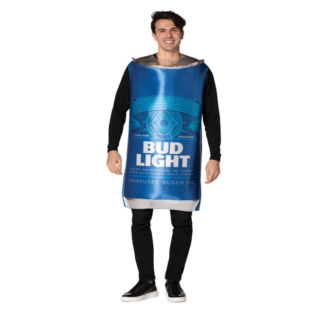Adult Busch Bud Light Beer Can (#366)