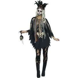 Voodoo Character Poncho- Adult