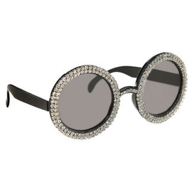Oversized Crystal Sunglasses