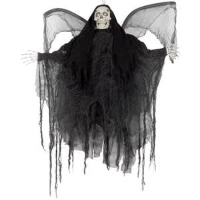 "39"" Hanging Ghost with Wings- Lights and Sounds"