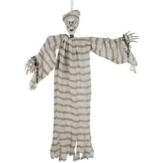 "33"" Shaking Prisoner Ghost with Light-up Eyes"