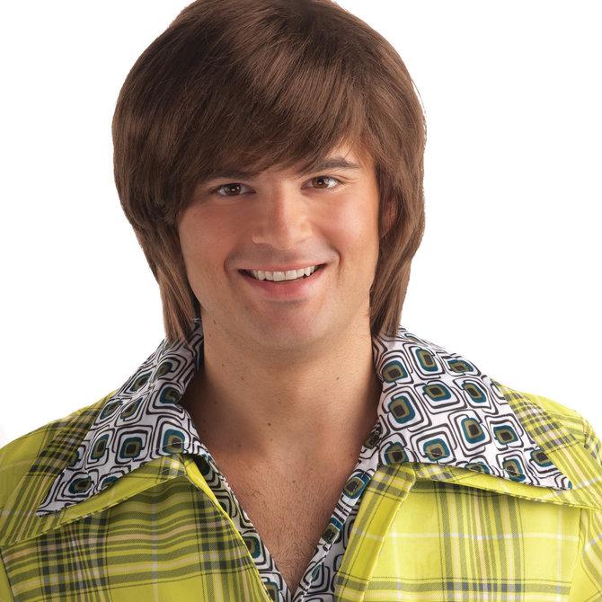 70's Dude Brown Wig