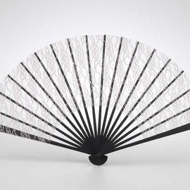 Roaring 20s Lace Fan- Beige