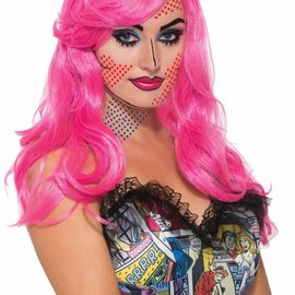 Pop Art Katie Kapow Wig
