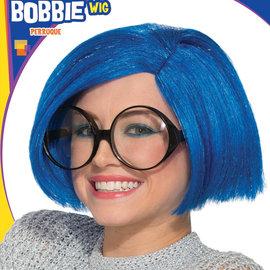 Blue Bobbie Wig