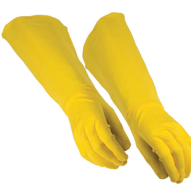 Adult Hero Gauntlet Gloves- Yellow