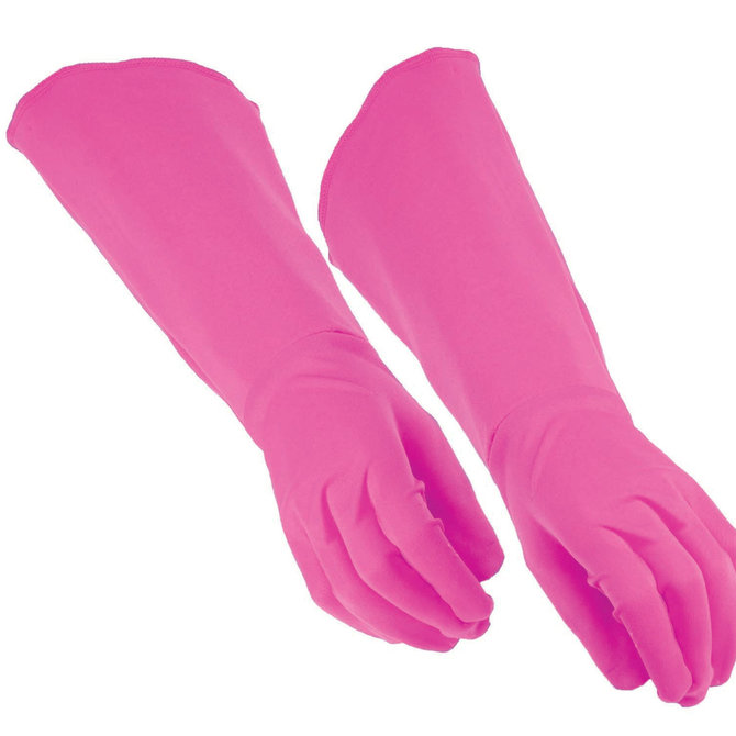 Adult Hero Gauntlet Gloves- Pink