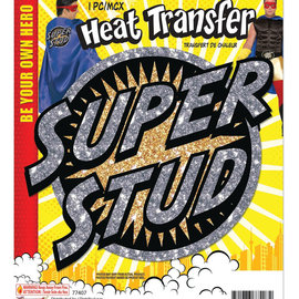 Heat Transfer- Super Stud