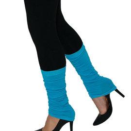 Neon Leg Warmers- Blue