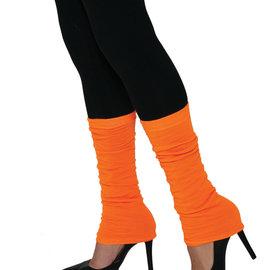Neon Leg Warmers- Orange