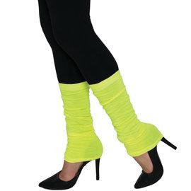 Neon Leg Warmers- Yellow