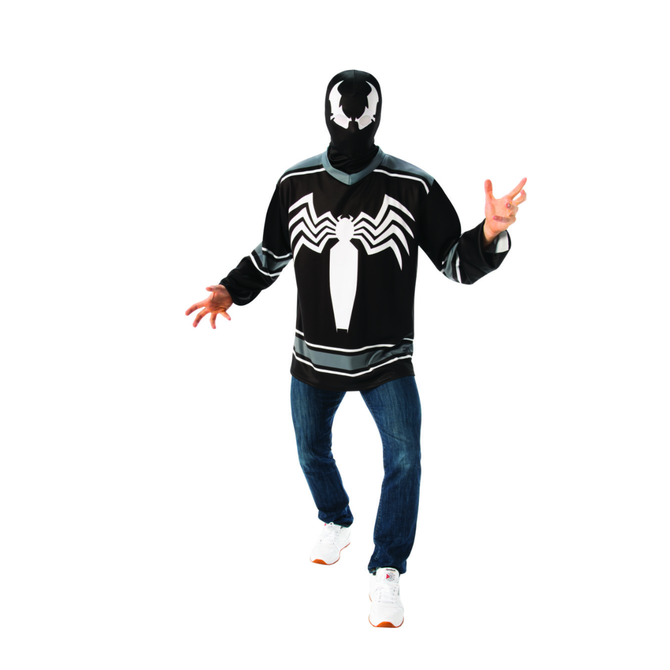 Adult Venom Costume Jersey Top Set - Marvel Universe