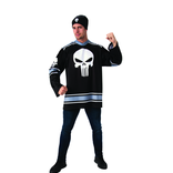 Adult Punisher Costume Jersey Top Set - Marvel Universe