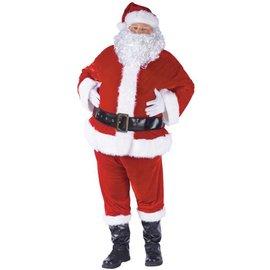 Complete Velour Santa Suit