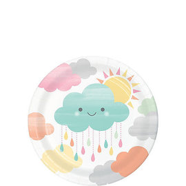 Happy Clouds Dessert Plates 8ct
