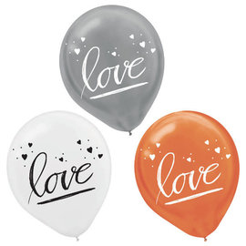 "Navy Bride Latex 12"" Balloons -15ct"
