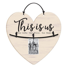 This Is Us Hanging Picture Holder